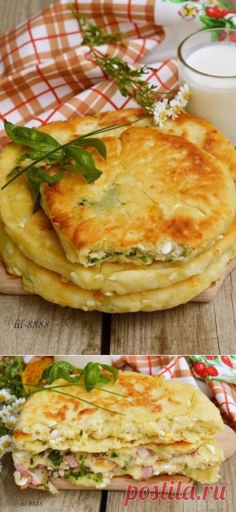 Как приготовить сырные лепешки с разными начинками - рецепт, ингридиенты и фотографии
