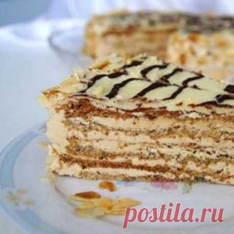 """""""Не избитый"""", но очень вкусный торт """"Эстерхази"""" - Простые рецепты Овкусе.ру"""