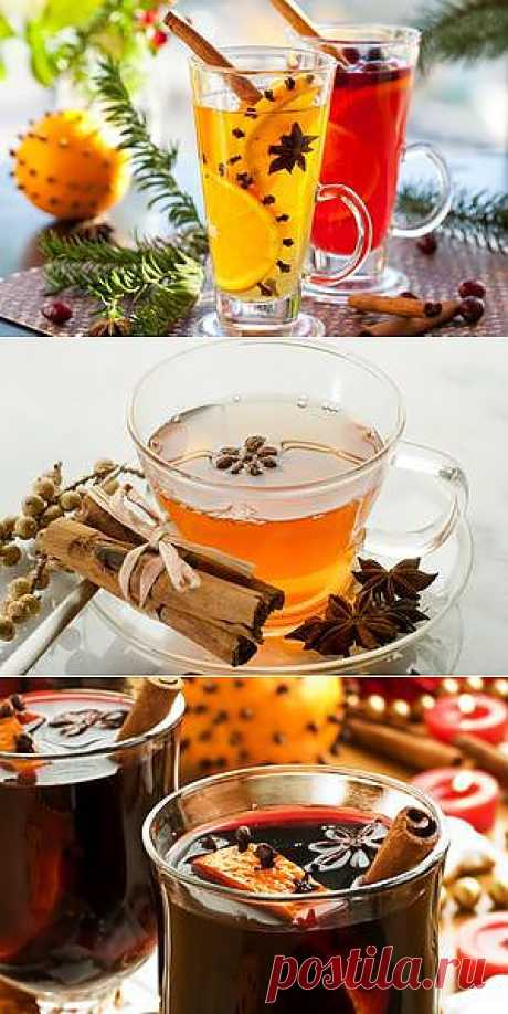 Зимние рецепты: рецепты пунш, грог и глинтвейн