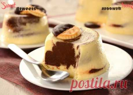 "Десерт ""Крем-шоколад"" | Sweet Twittes"