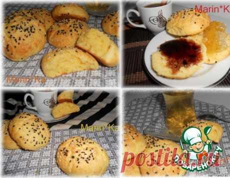 Пресные булочки к завтраку – кулинарный рецепт