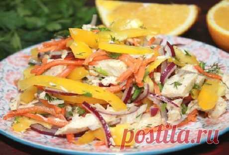 Салат с курицей — Сад Заготовки