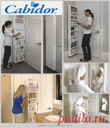 Сверхтонкий шкаф, который навешивается на любую дверь — Идеи домашнего мастера