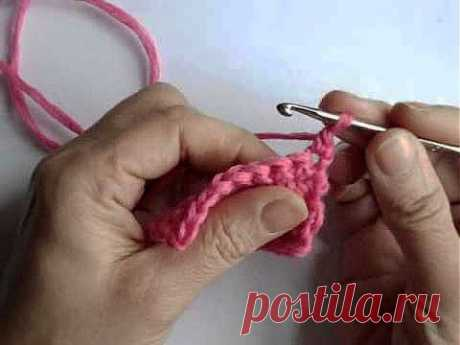 Вязание крючком - Урок 5. Убавление петель - Вязание крючком