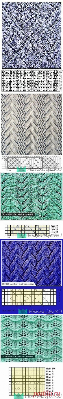 Подборка красивых узоров / Вязание