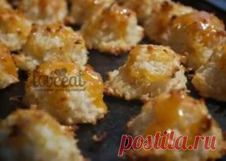 Печенье с кокосом и соленой карамелью