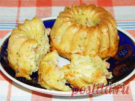 Воздушные закусочные кексы / Рецепты с фото