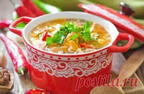 Суп харчо с курицей - 5 рецептов приготовления