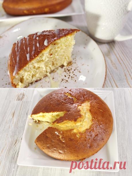 Самый быстрый банановый кекс на сгущенке без возни. — Кулинарная книга - рецепты с фото