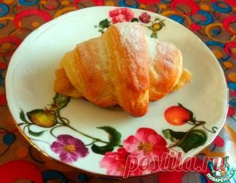 Круассаны с яблочной начинкой – кулинарный рецепт