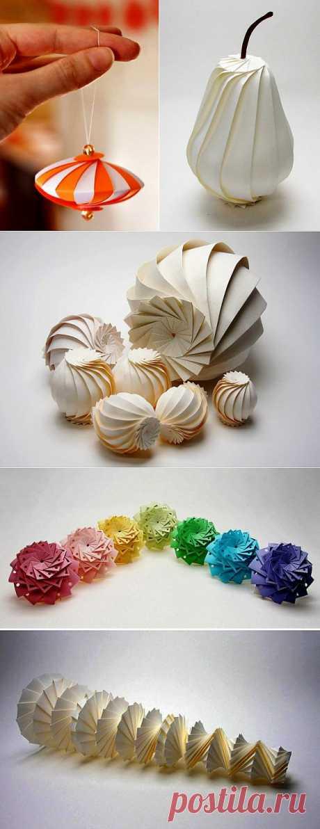 Геометрическое 3D-оригами в творчестве Джуна Митани