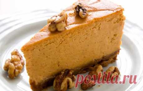 Тыквенный чизкейк / Пироги и пирожки / TVCook: пошаговые рецепты с фото