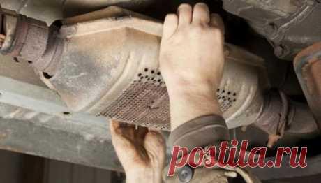 Чистка катализатора автомобиля своими руками: способы и жидкость для промывки