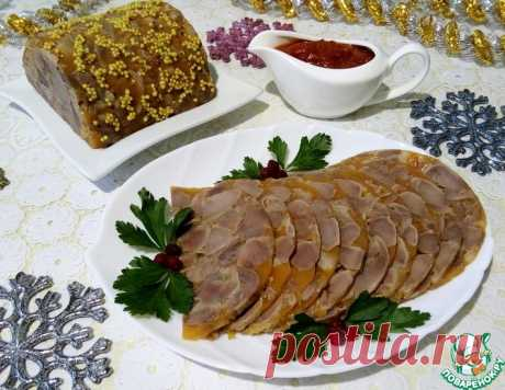 Сальтисон из куриных желудочков – кулинарный рецепт
