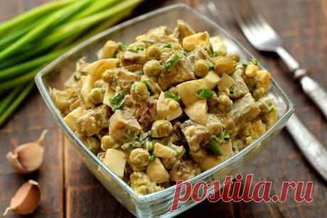 Салат с баклажанами и зеленым горошком Данный салат яркий пример тому, как из небольшого количества продуктов можно приготовить вкусное и сытное блюдо, при этом достаточно быстро. Баклажаны в салатах гармонично сочетаются … Читай дальше на сайте. Жми подробнее ➡
