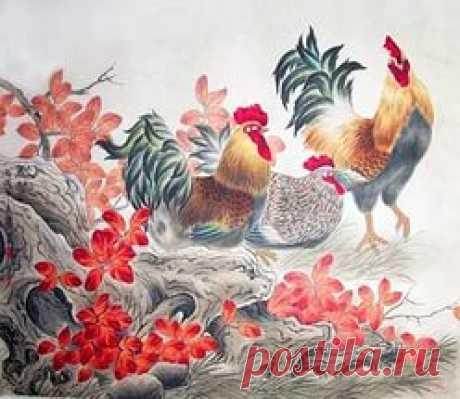 картины петухи в японской живописи: 18 тыс изображений найдено в Яндекс.Картинках