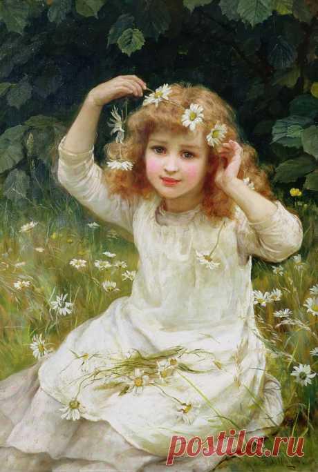 (4) Художники Morgan: Отец John Morgan (British, 1823-1886) - был успешным английским художником жанра.: kolybanov — ЖЖ