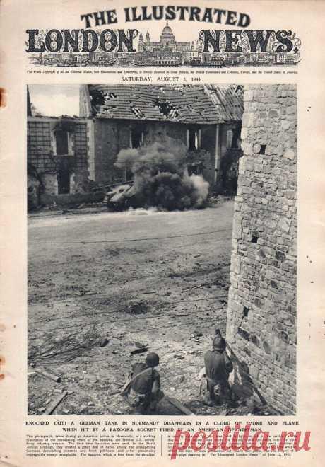1944.08.05 - The Illustrated London News | Sovetika.ru - обложки старых журналов