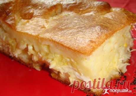 «Невесткин пирог» -начинка нежнейшая, тесто легчайшее!