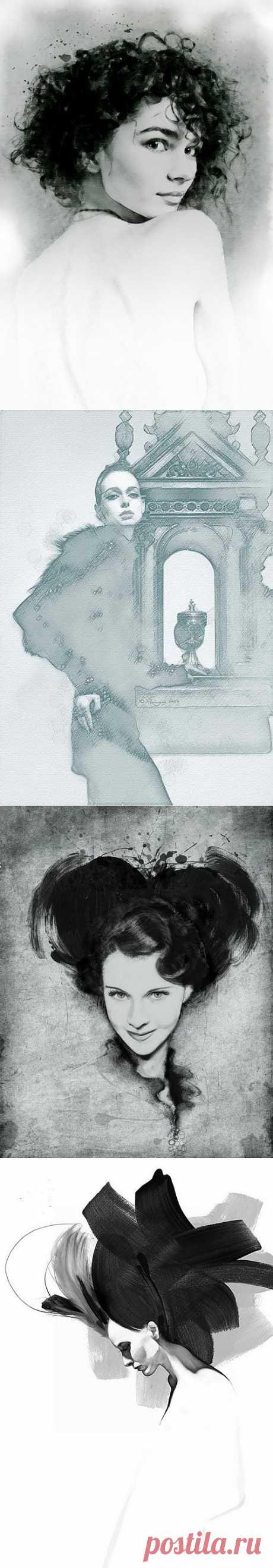 Юрий Ратуш - Женский образ (28 работ) » Картины, художники, фотографы на Nevsepic