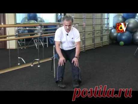 La artrosis de las articulaciones de la rodilla. El complejo de los ejercicios