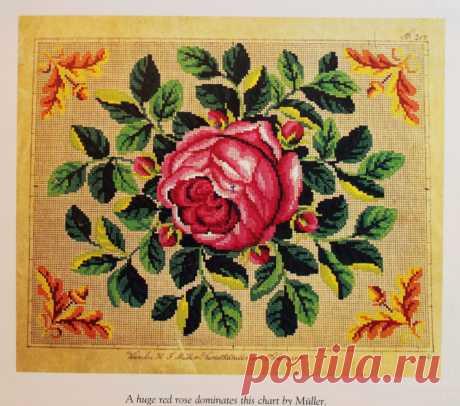 Cross Stitching. Free Pattern. Цветная схема для вышивки крестиком