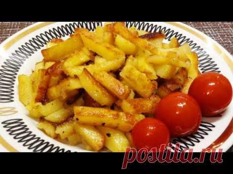 Жареная картошка в мультиварке простой рецепт! Как пожарить картошку?
