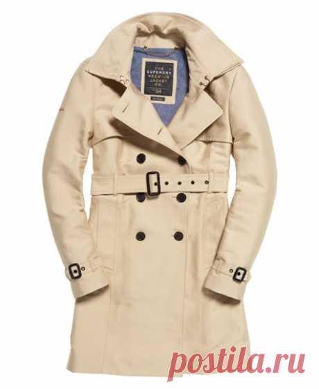 Superdry Belle Trench Coat - Women's Jackets & Coats