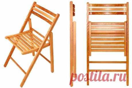 Делаем складные стулья на дачу самостоятельно