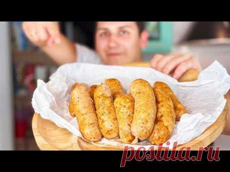Я больше не покупаю колбасу - Рецепт домашних куриных колбасок - Просто объедение! | Кулинария