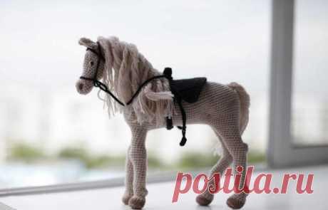 Вяжем лошадку крючком - «Вязание крючком» » Своими Руками