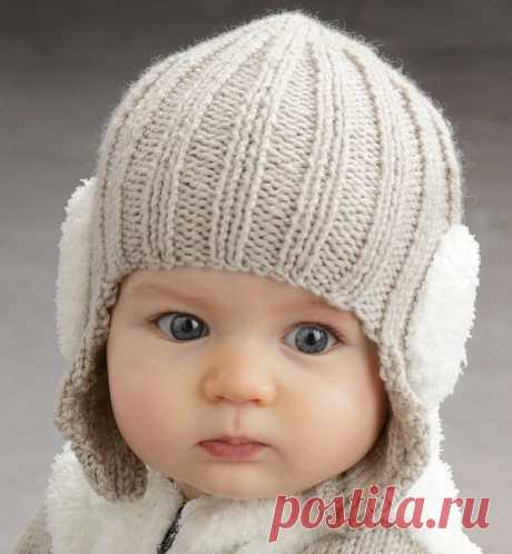 """Cap a hook with ears the nursery\"""" the Loop - knitting for all occasions!"""