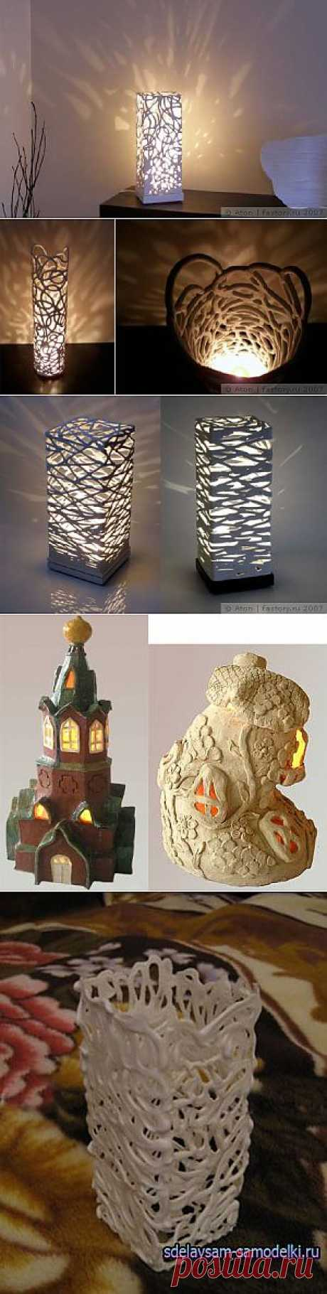@ Светильник своими руками из пластики (полимерной глины) | МОЙ МИЛЫЙ ДОМ – идеи рукоделия, вязание, декорирование интерьеров