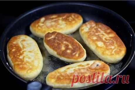 Тесто для пирожков на сковороде: рецепты приготовления пышной основы с дрожжами и на кефире