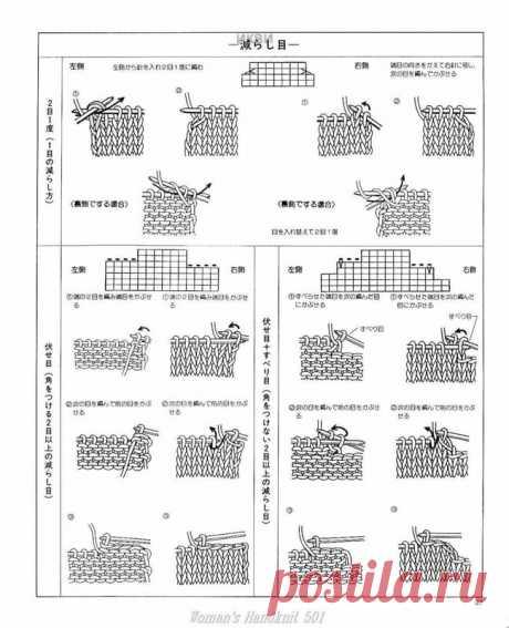"""Альбом """"Woman's Handknit"""" № 501. Стильное вязание для осени и зимы./япония/"""