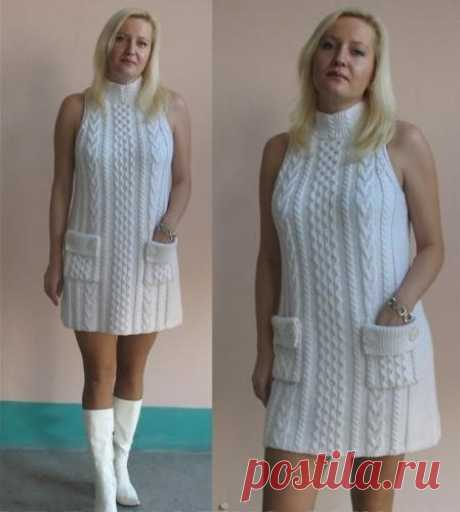 Супер платье!!!! Вязаное.