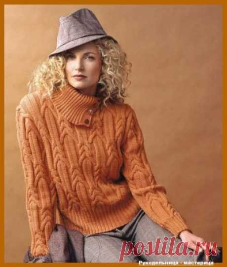 Sweater with volume arana for the lady