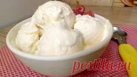"""Мороженое """"Пломбир"""" за 5 минут (+время на заморозку)"""