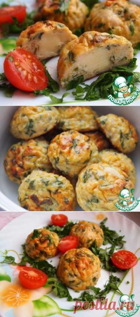 Курино-овощные шарики с сыром - кулинарный рецепт
