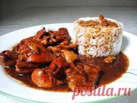 Как приготовить курица терияки  - рецепт, ингредиенты и фотографии