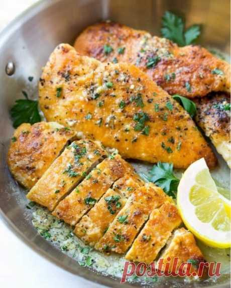 Курочкас аппетитной лимонной корочкой — Sloosh – кулинарные рецепты