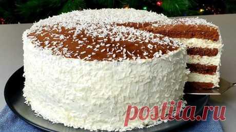 Новинка 2021👑 САМЫЙ МОДНЫЙ торт! ПОТРЯСАЮЩЕ ВКУСНЫЙ!