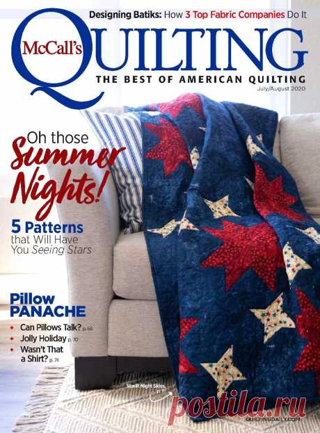 McCall's Quilting - July-August 2020