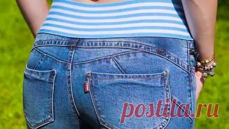 Креативные джинсовые переделки👖✂