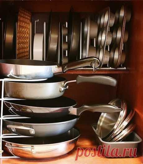 Организация хранения на кухне   Тысяча одна идея