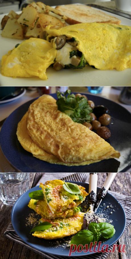 8 способов приготовить на ужин омлет