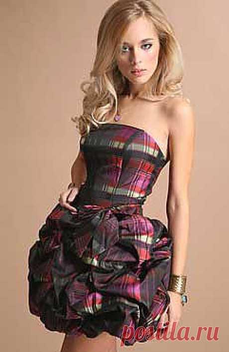 ШКОЛА ШИТЬЯ: Как сшить платье для вечеринки - Цветок востока