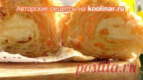Слоенное тесто (тисячилистник) беспроиграшный вариант рецепт с фотографиями