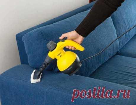 Как почистить в домашних условиях диван и другую мягкую мебель ванишем от грязи