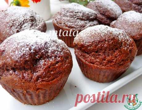 Кексы шоколадные – кулинарный рецепт